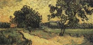 Chateau Auvers, Van Gogh