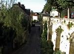 rue daub from church
