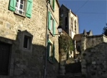 stone steps to l'eglise