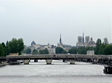 down the seine