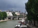 paris view from bridge