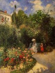 Pissarro The Garden at Pontoise