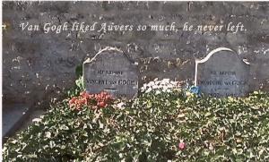 van gogh grave