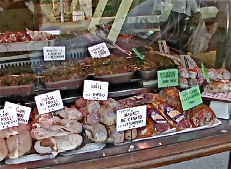 butcher window