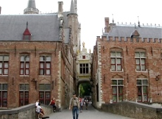 entrance to brugge square