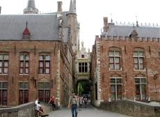 entrance to brugge square