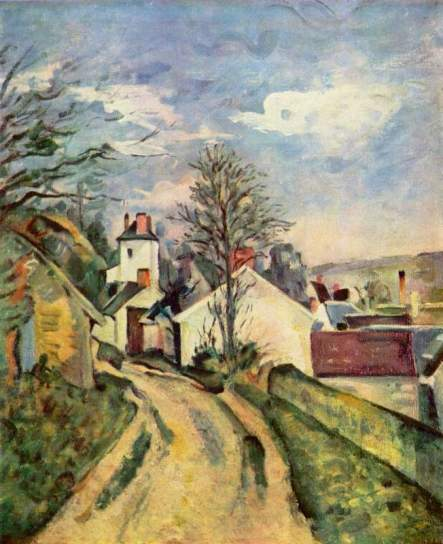 House of Dr. Gachet, by Cezanne