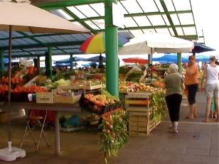 Rovinj market