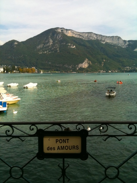 pont d'amours annecy