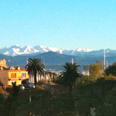 view of alps from antibes 11/2012