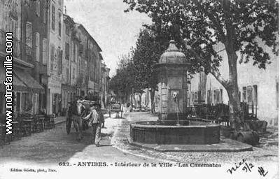 antibes 1900's
