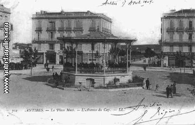 cartes-postales-photos-La-Place-Mace--L-Avenue-du-Cap-ANTIBES-6600-06-06004007-maxi